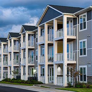 Hudson 5401 apartments exterior