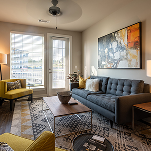 Hudson 5401 apartments living room